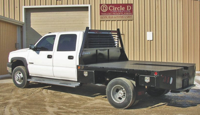 Circle D SDT Pickup Flatbed