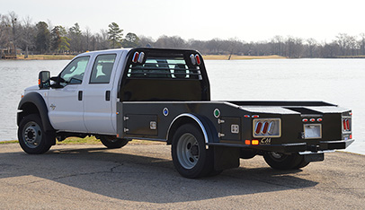 CM Truck Beds ER Model Pickup Flatbed